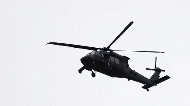 Amerykański Black Hawk nad Afganistanem /JAWAD JALALI /PAP/EPA