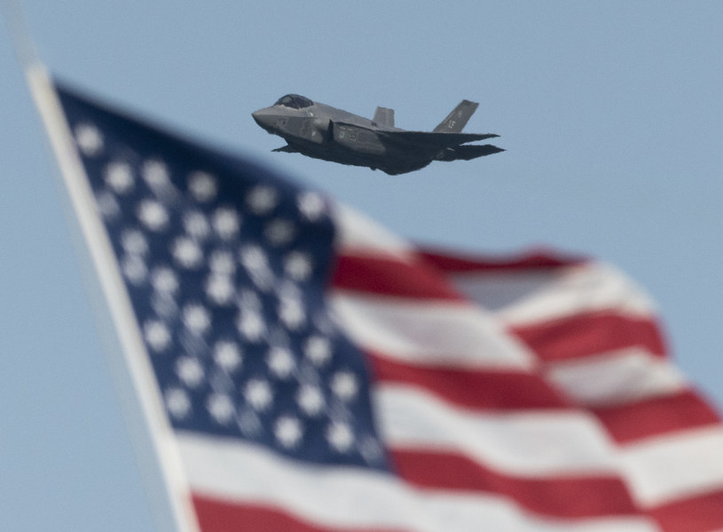 Amerykański F-35. Fot. Yichuan Cao/NurPhoto/Getty Images /Getty Images