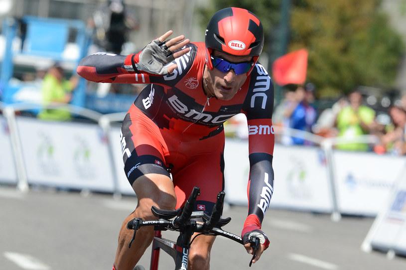 Amerykański kolarz George Hincapie /AFP