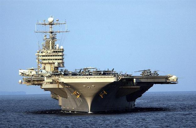 Amerykański lotniskowiec Abraham Lincoln /AFP