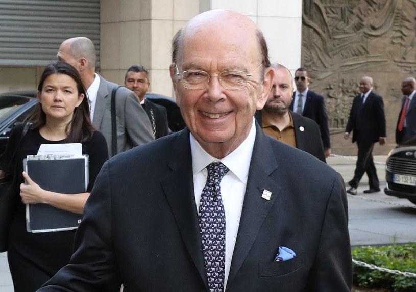 Amerykański minister handlu Wilbur Ross /AFP