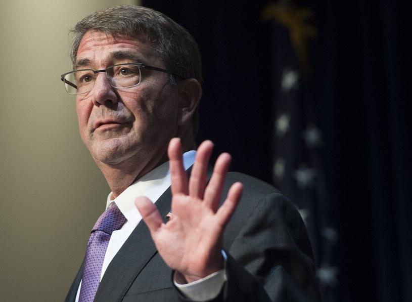 Amerykański minister obrony Ashton Carter /AFP
