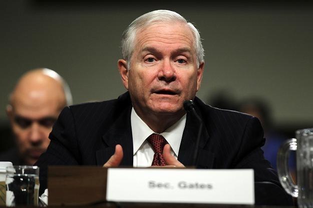 Amerykański minister obrony Robert Gates /AFP