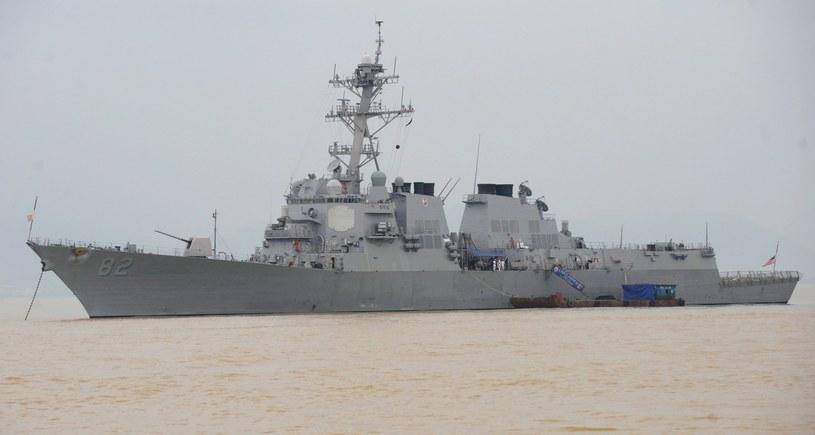 Amerykański niszczyciel w pobliżu chińskich wysp /AFP