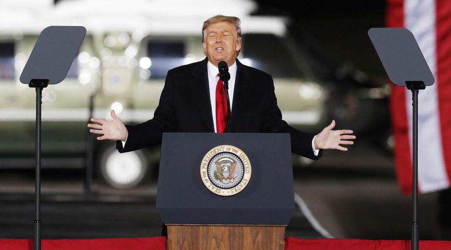 Amerykański prezydent Donald J. Trump /ERIK S. LESSER /PAP/EPA