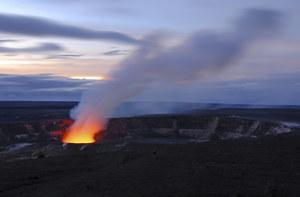 Amerykański turysta wpadł do wulkanu i... przeżył