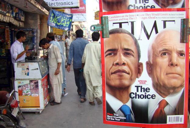 """Amerykański tygodnik """"Time"""" po ośmiu miesiącach znowu zmienia właściciela /NADEEM KHAWER /PAP/EPA"""