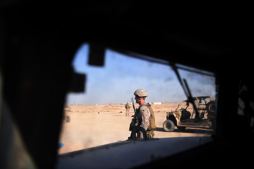 Amerykański żołnierz w Afganistanie (arch.) /AFP