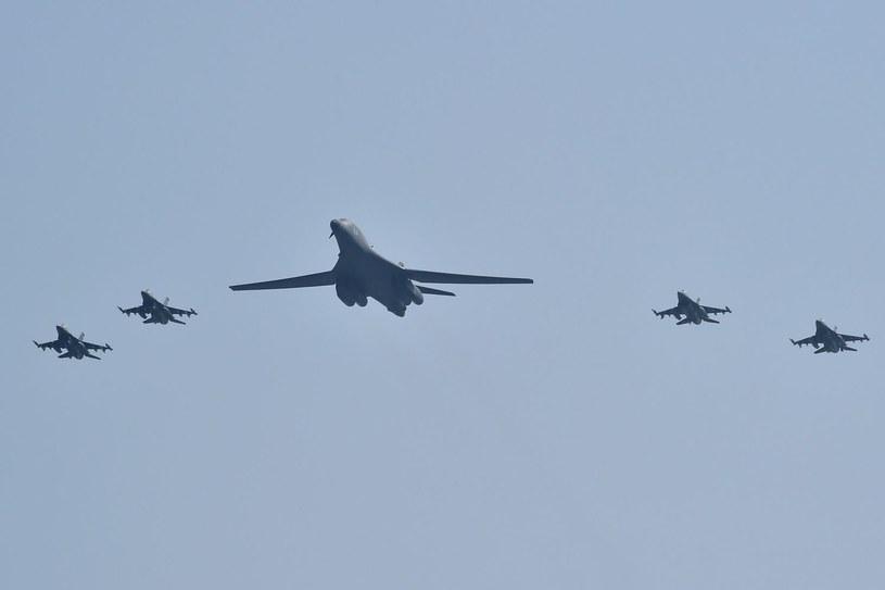 Amerykańskie bombowce B-1B Lancer /AFP