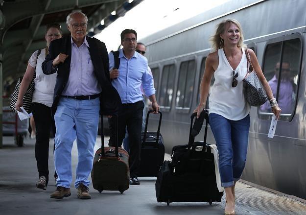 Amerykańskie linie kolejowe Amtrak wprowadzają od czwartku opłaty za nadbagaż /AFP