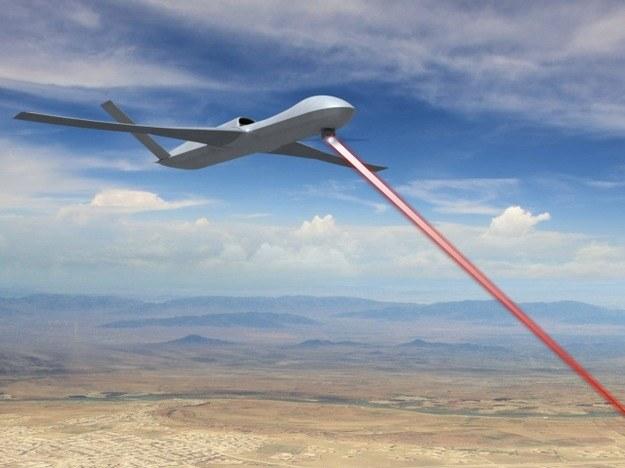 Amerykańskie myśliwce i bezzałogowce będą wyposażone w broń laserową najpóźniej w 2020 roku /materiały prasowe
