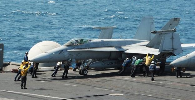 Amerykańskie samoloty zbombardowały pozycje dżihadystów