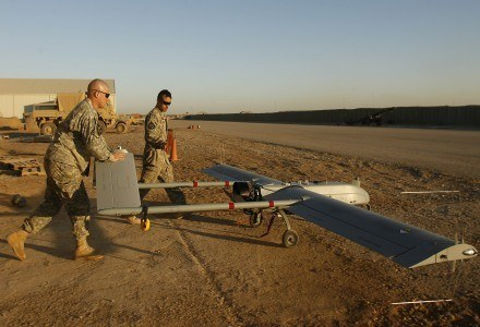 Amerykańskie wojsko już od dłuższego czasu używa UAV. /AFP