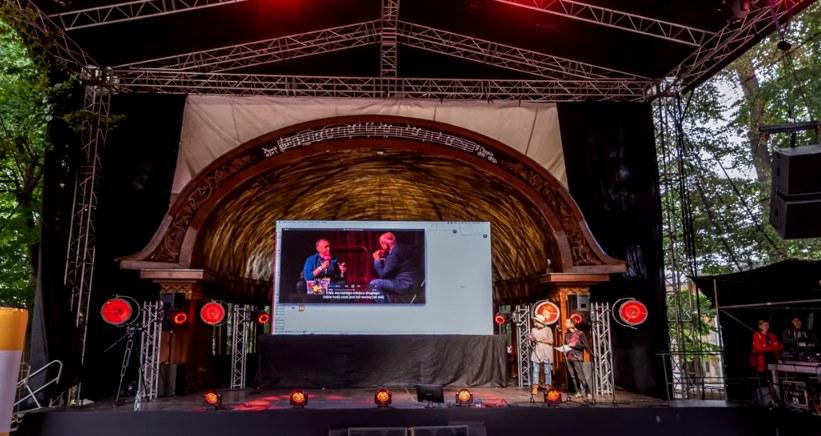 Amfiteatr w Lądku Zdroju. /RMF FM