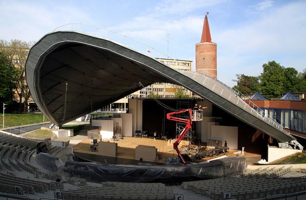 Amfiteatr w Opolu /PAP/Krzysztof Świderski /PAP