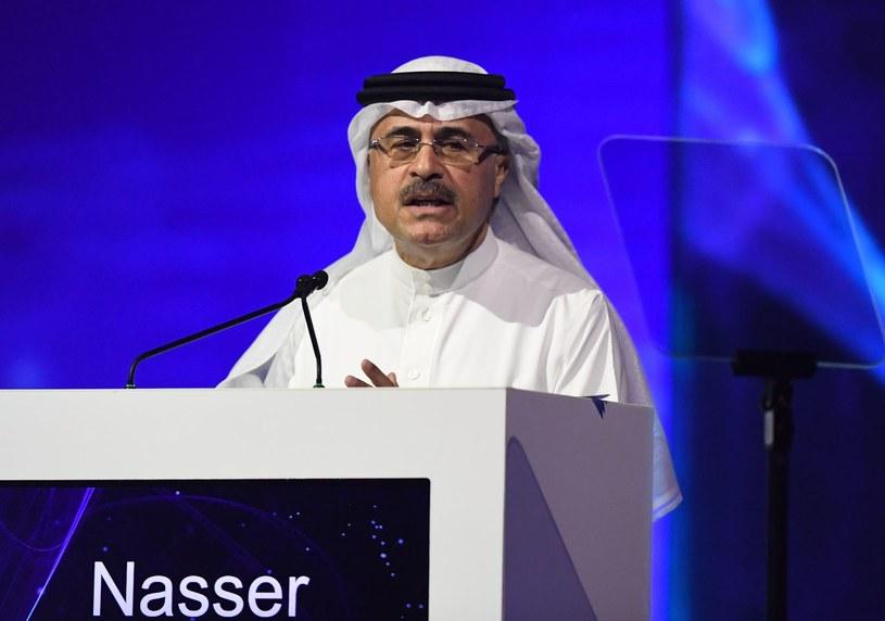 Amin Nasser, prezes Aramco /AFP