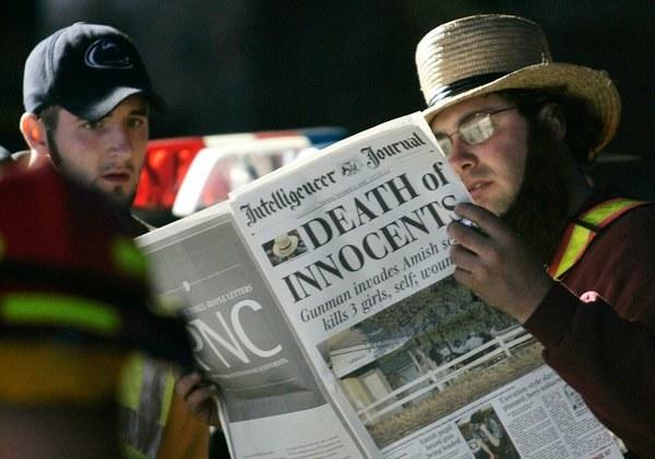 Amisze odrzucają przemoc - nawet jeśli chodzi o samoobronę /AFP