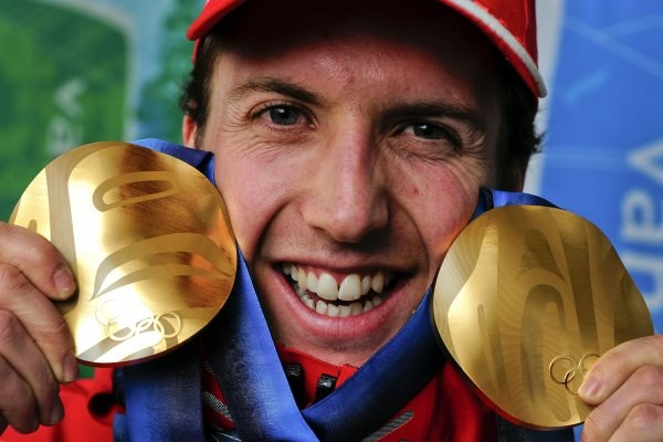 Ammann w Vancouver zdobył dwa złote medale olimpijskie /AFP