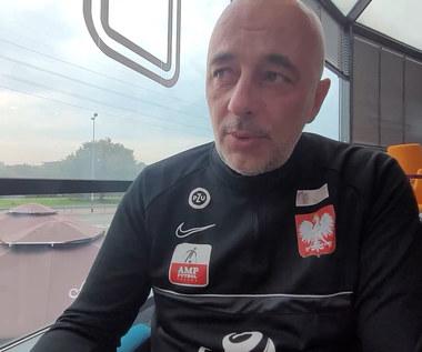 Ampfutbol. Marek Dragosz, selekcjoner reprezentacji przed ćwierćfinałem z Francją. WIDEO