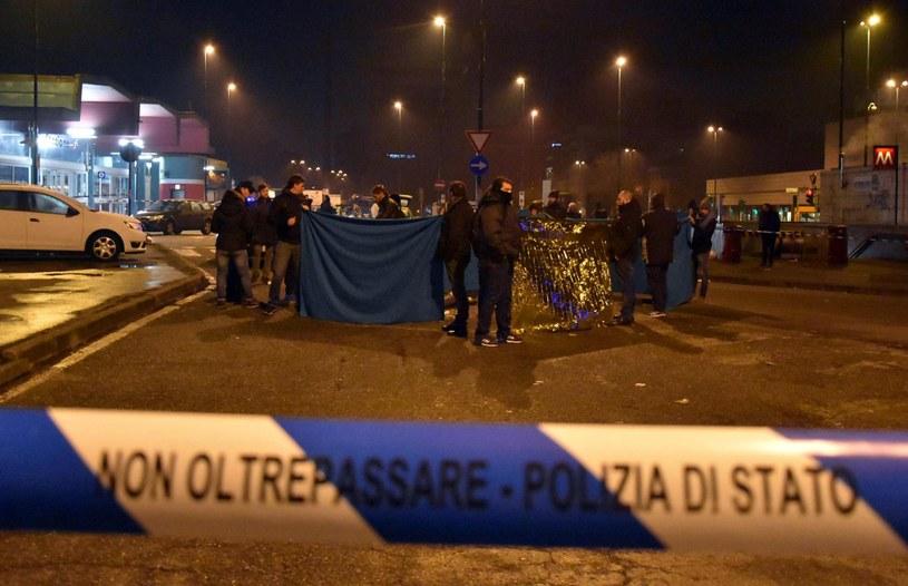 Amri został zastrzelony w Mediolanie /PAP/EPA