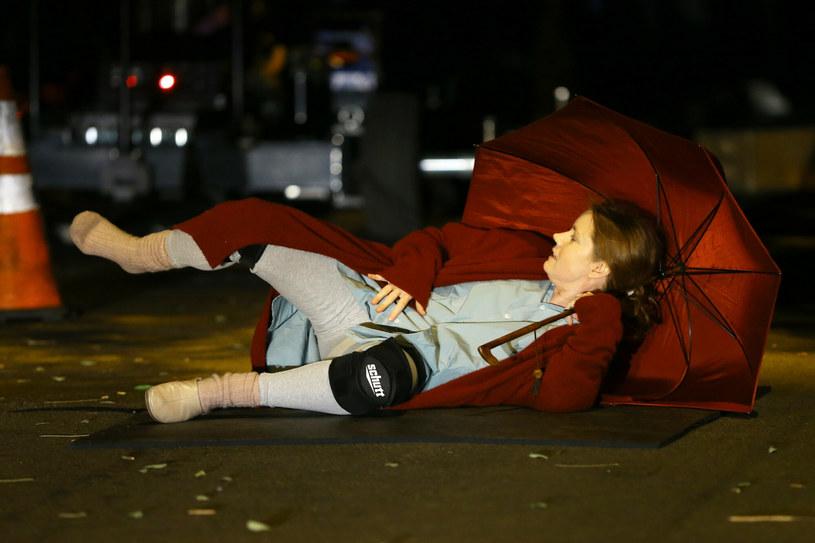 "Amy Adams na planie ""Kobiety w oknie"" /Christopher Peterson / SplashNews.com /East News"