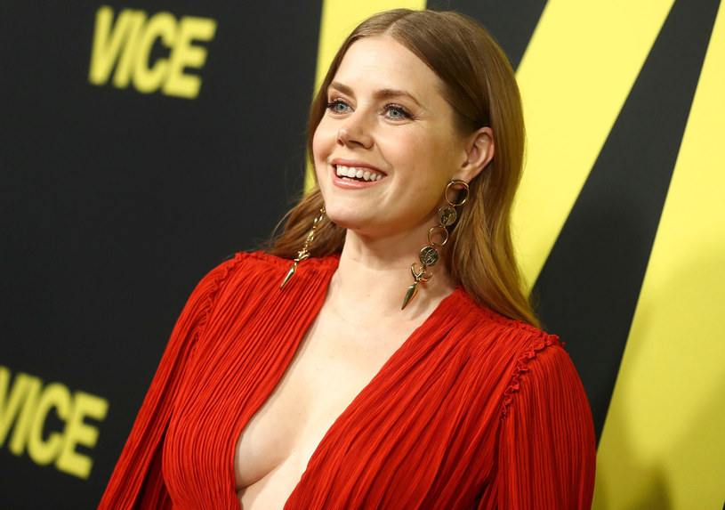 "Amy Adams na premierze filmu ""Vice"" /East News"