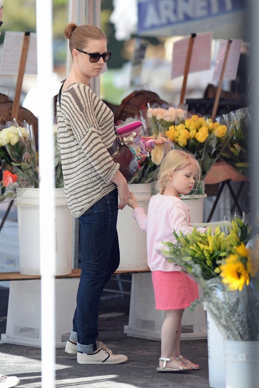 Amy Adams z córką /Splash News/EAST NEWS /East News