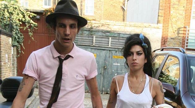 Amy Winehouse z mężem  /Splashnews