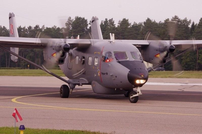An-28 Bryza 1R /kmdr ppor. Czesław Cichy  /Polska Zbrojna