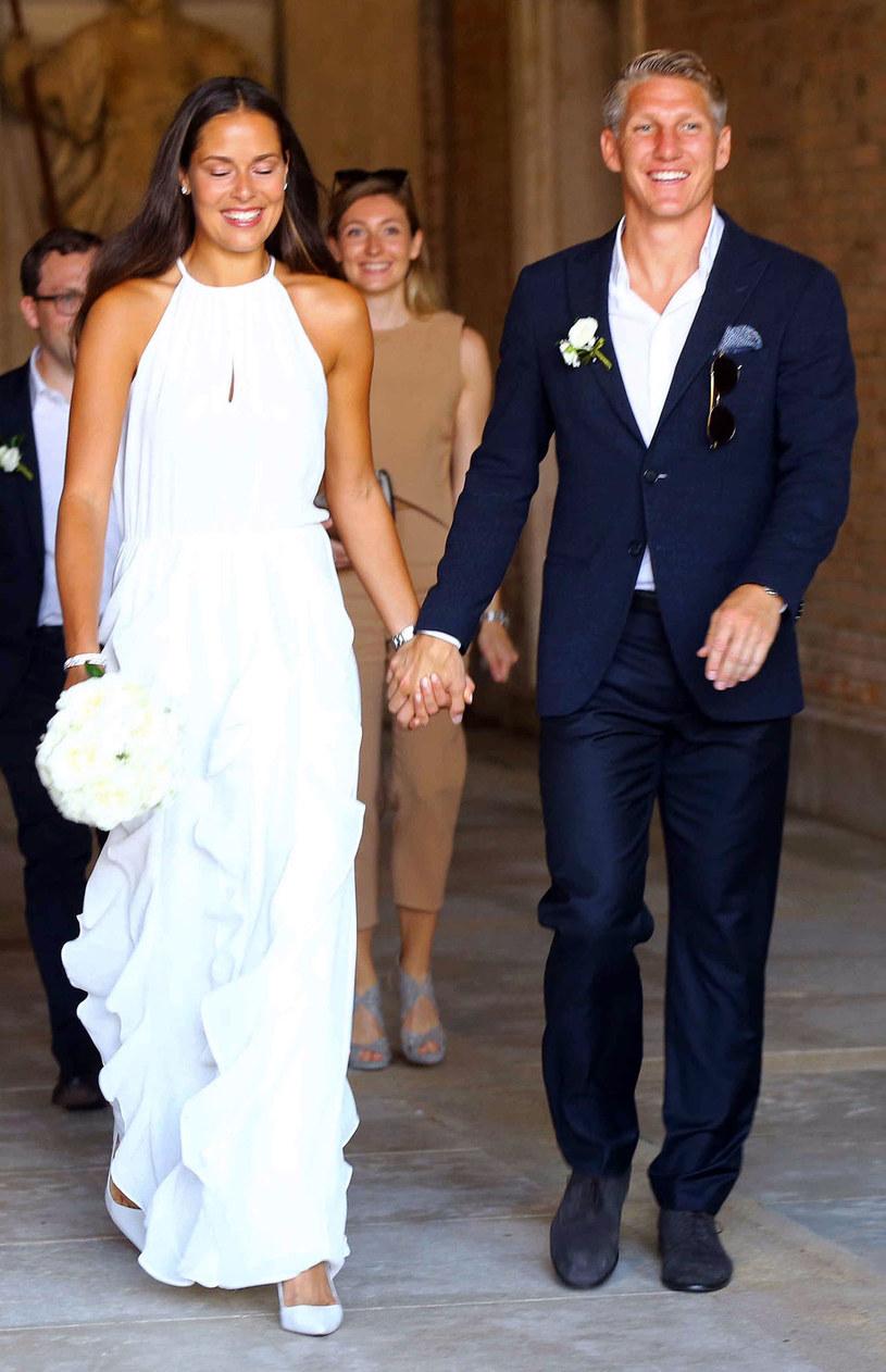 Ana Ivanović i Bastian Schweinsteiger wzięli ślub /People Picture/REX/Shutterstock /East News