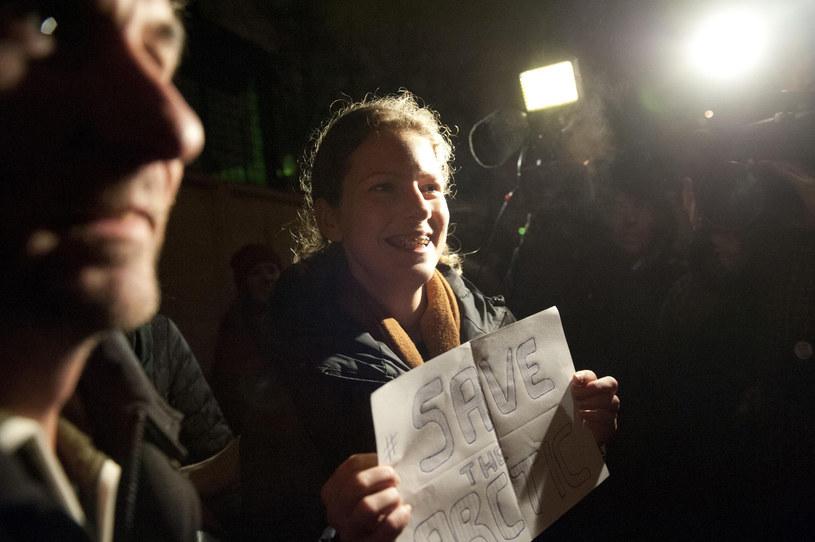 Ana Paula Alminhana Maciel po wyjściu z więzienia /DMITRI SHAROMOV  /AFP