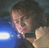 "Anakin Skywalker : Kadr z trailera ""Epizodu III"" /"