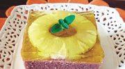 Ananasek na kaszce bez pieczenia