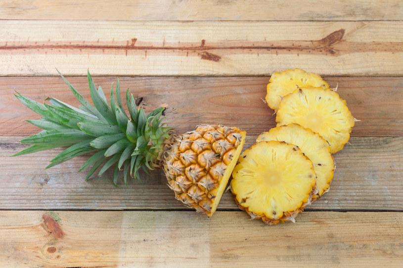 Ananasy wspomogą pracę przewodu pokarmowego /123RF/PICSEL