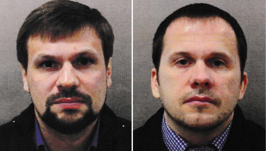 Anatolij Czepiga i Aleksandr Miszkin /LONDON METROPOLITAN POLICE/HANDOUT /PAP/EPA
