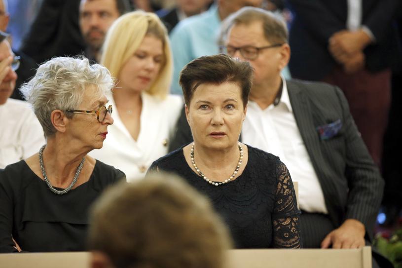 Anda Rottenberg, Hanna Gronkiewicz-Waltz, fot. Mieszko Piętka, Jordan Krzemiński /AKPA