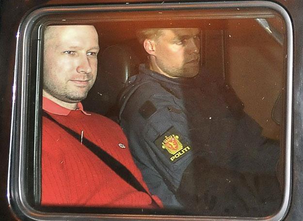 Anders Behring Breivik, 25 lipca 2011 roku /AFP