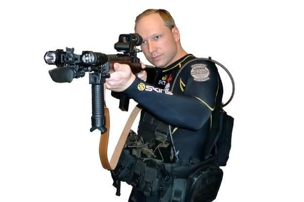 Anders Behring Breivik nie był pierwszym szaleńcem udzielającym się w sieci. I na pewno nie ostatnim /AFP