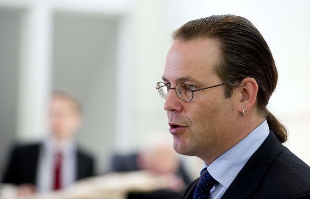 Anders Borg - minister finansów Szwecji /AFP