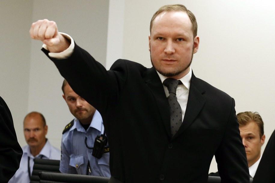 Anders Breivik pozywa państwo norweskie. Bo jest izolowany / HEIKO JUNGE / POOL    /PAP/EPA