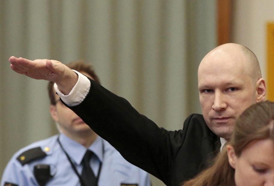 Anders Breivik /LISE ASERUD /PAP/EPA