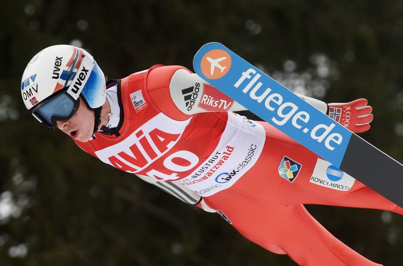 Anders Fannemel z Norwegii. /AFP
