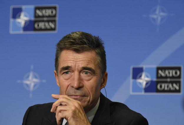 Anders Fogh Rasmussen ostrzega przed zależnością energetyczną od Rosji /AFP