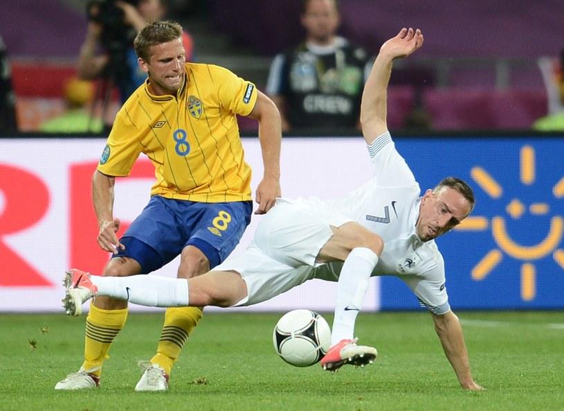 Anders Svensson żegna się z drużyną narodową /AFP