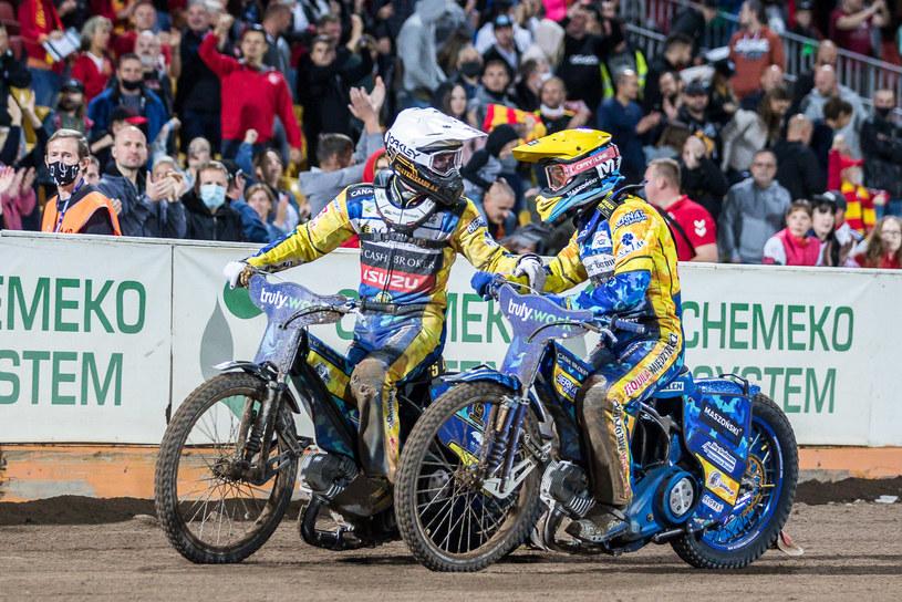 Anders Thomsen i Bartosz Zmarzlik /Wojciech Tarchalski /Newspix