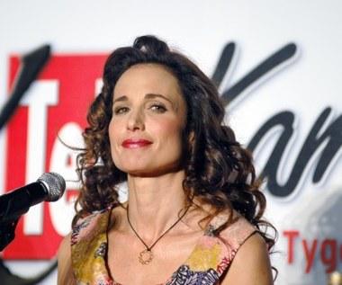Andie MacDowell z Telekamerą 2007