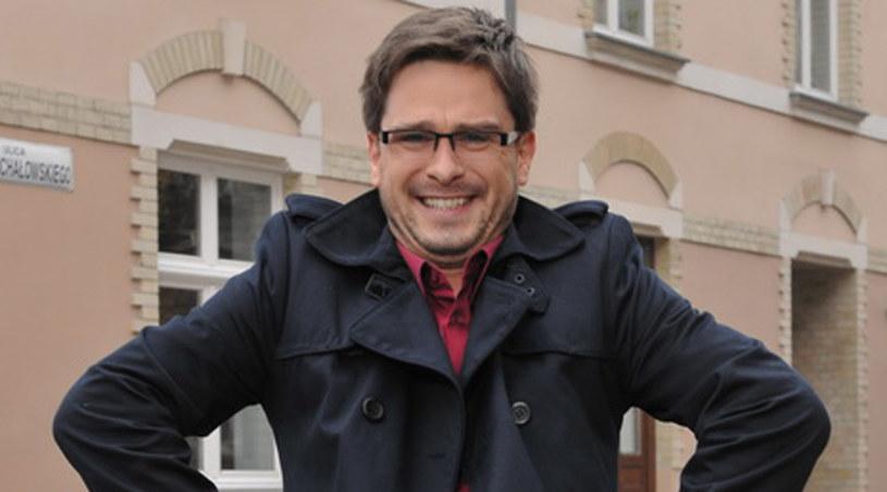 Adam Lewandowski przyznaje, że sam jest dużym chłopcem /Agencja W. Impact