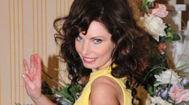 """Agnieszka Dygant w serialu """"Niania"""" /Agencja W. Impact"""