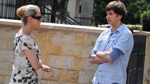 Agnieszka jest spragniona miłości i zrozumienia. Wie, że u boku Szymona będzie szczęśliwa. Ale czy jest gotowa na nowy związek? /Agencja W. Impact