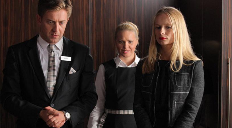Aktorke nuży postać Joli, pokojówki z hotelu /Agencja W. Impact